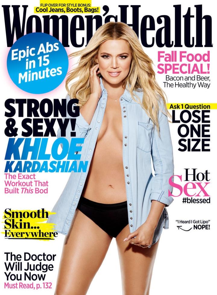 Khloe Kardashian Flaunts Her 'Revenge Body' for Women's Health