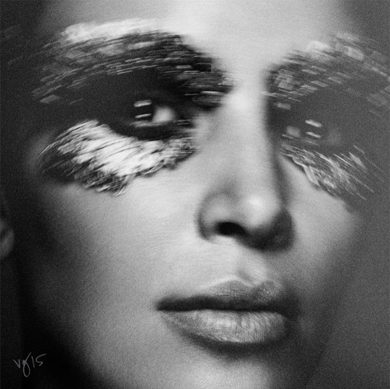 Kim Kardashian Violet Grey Photoshoot Cleopatra01