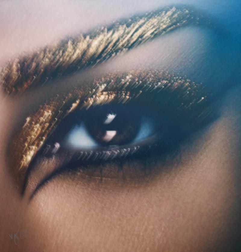 Kim Kardashian Violet Grey Photoshoot Cleopatra03