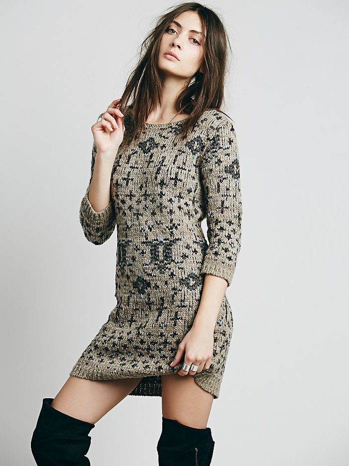 Kris Cross Sweater Dress available for $168.00