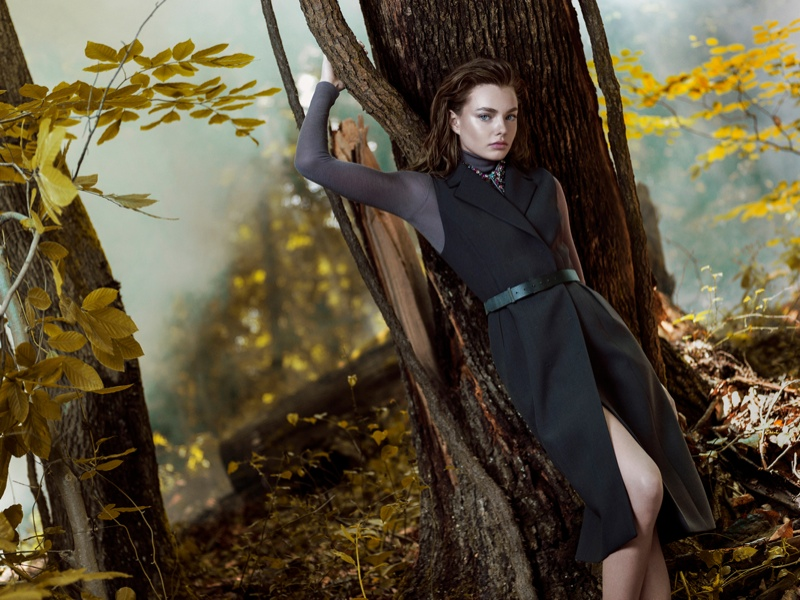 Kristine Froseth Machka Fall 2015 Ad Campaign07