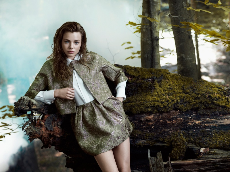 Kristine Froseth Machka Fall 2015 Ad Campaign08