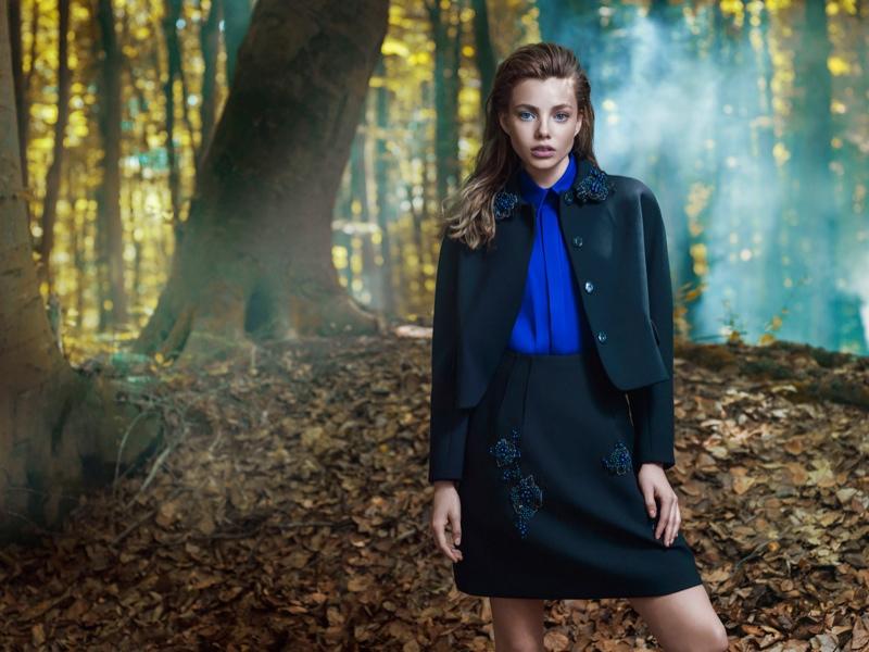 Kristine Froseth Machka Fall 2015 Ad Campaign10