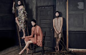 Chiharu Okunugi, Sarah Brannon & Tess Hellfeuer Are Trending for L'Officiel Singapore's September Issue