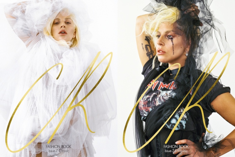 Lady Gaga on CR Fashion Book fall-winter 2015 cover