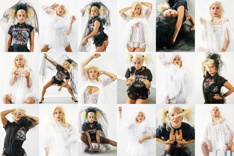 Lady Gaga poses for Bruce Weber in CR Fashion Book #7