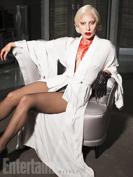 Lady Gaga stars in Entertainment Weekly photoshoot for September 2015