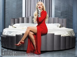 Lady Gaga Gets Vampy for Entertainment Weekly Shoot