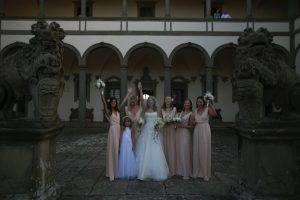 Model Lana Zakocela Marries in Florence Ceremony - See Her Dress