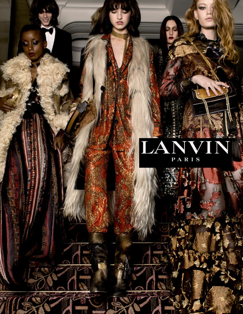 2015 Fall Winter 2016 Fashion Trends For Teens: Lanvin Fall / Winter 2015 Ad Campaign