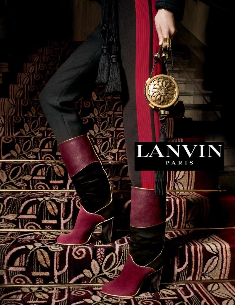 Lanvin Fall / Winter 2015 Ad Campaign
