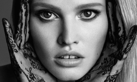 Lara Stone stars in W Korea's September issue