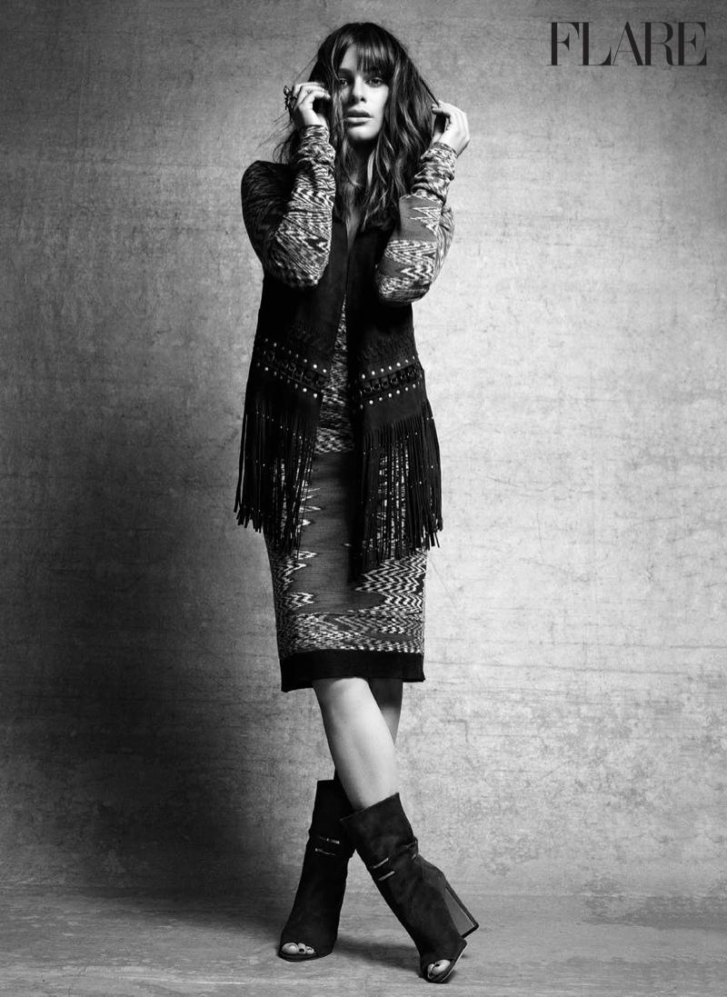 Lea layers in fringe embellished dress