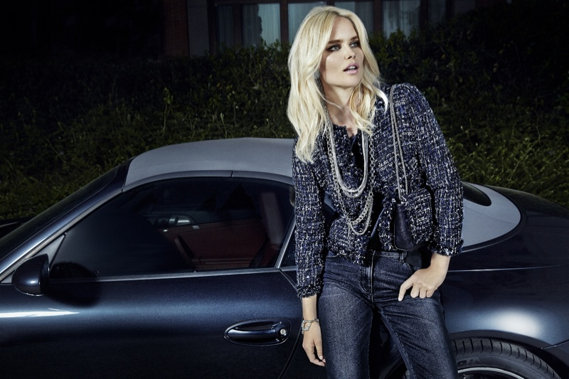 Luisa Spagnoli Launches Fall 2015 Campaign with Shelby Keeton