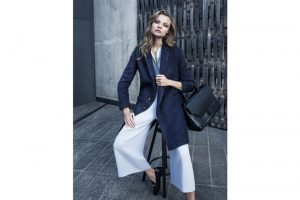 Magdalena Frackowiak Layers Up for Pedro del Hierro's Fall 2015 Ads