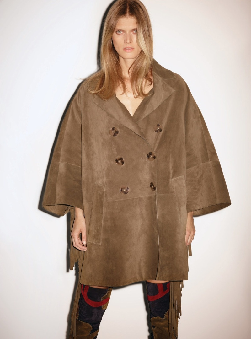 Malgosia Bela Models Autumnal Looks for W Korea Cover Story