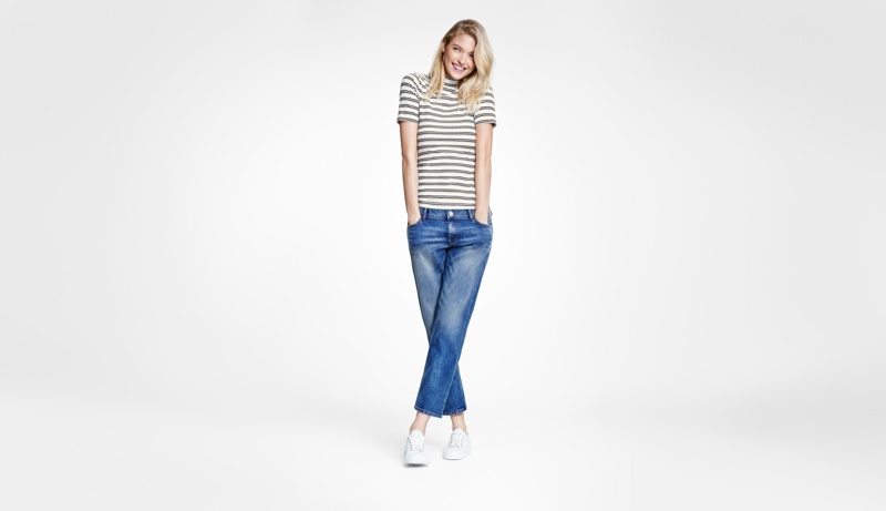 The new denim collection is made from environmental friendly fabrics and processes