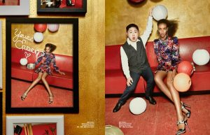 Labels Cause Fashion Fanfare in BAZAAR China Editorial by Shxpir