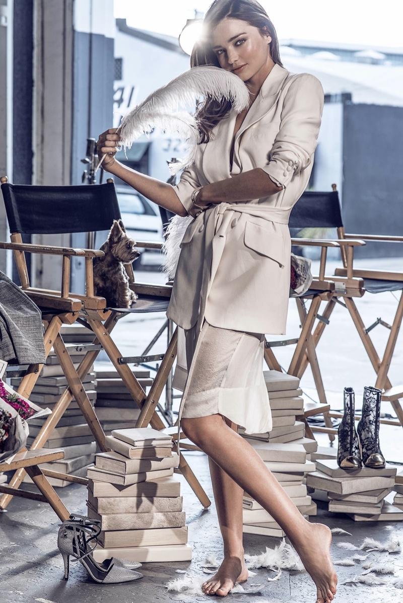 Miranda Kerr Swarovski Holiday 2015 Ad Campaign04