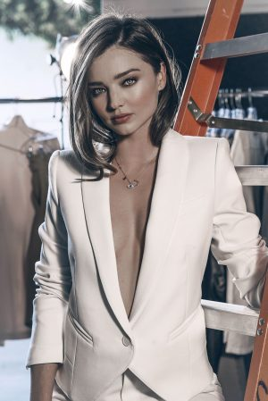 Miranda Kerr Dazzles in Swarovski Holiday 2015 Ads