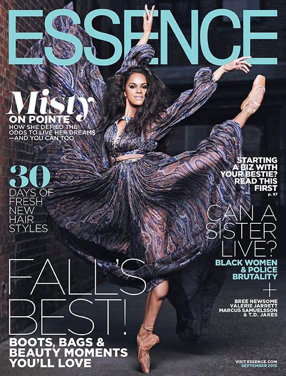 Misty Copeland Essence Magazine September 2015 Cover