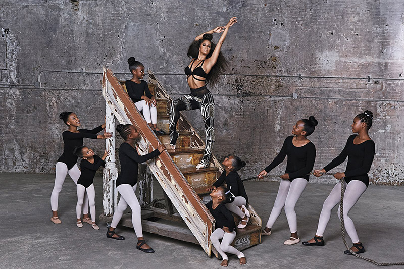 Misty Copeland Essence September 2015 Photo