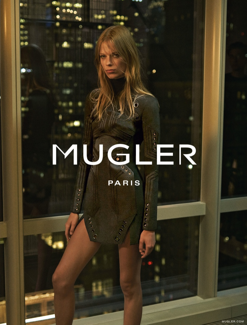 Lexi Boling Has a City View for Mugler's Fall 2015 Campaign