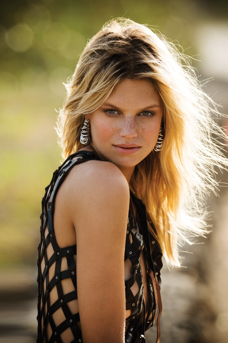 Nadine Leopold Has Blonde Ambition In The Daily Summer Editorial Fashion Gone Rogue