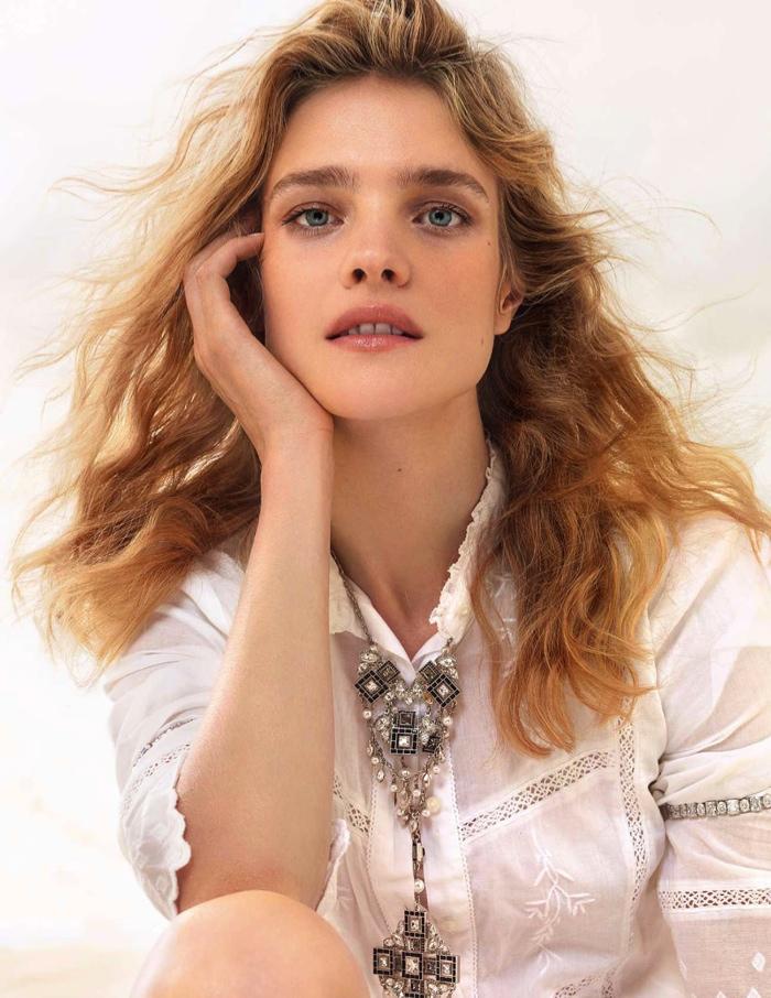 Natalia Vodianova Elle France August 2015 Cover Photoshoot02