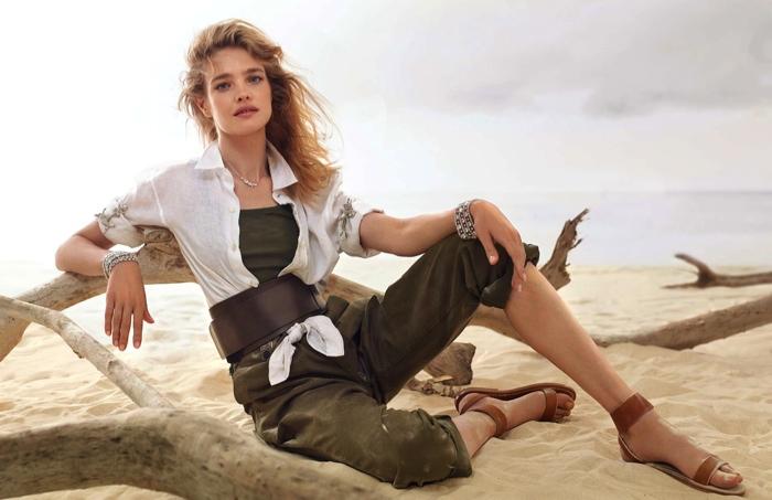 Natalia Vodianova Elle France August 2015 Cover Photoshoot04