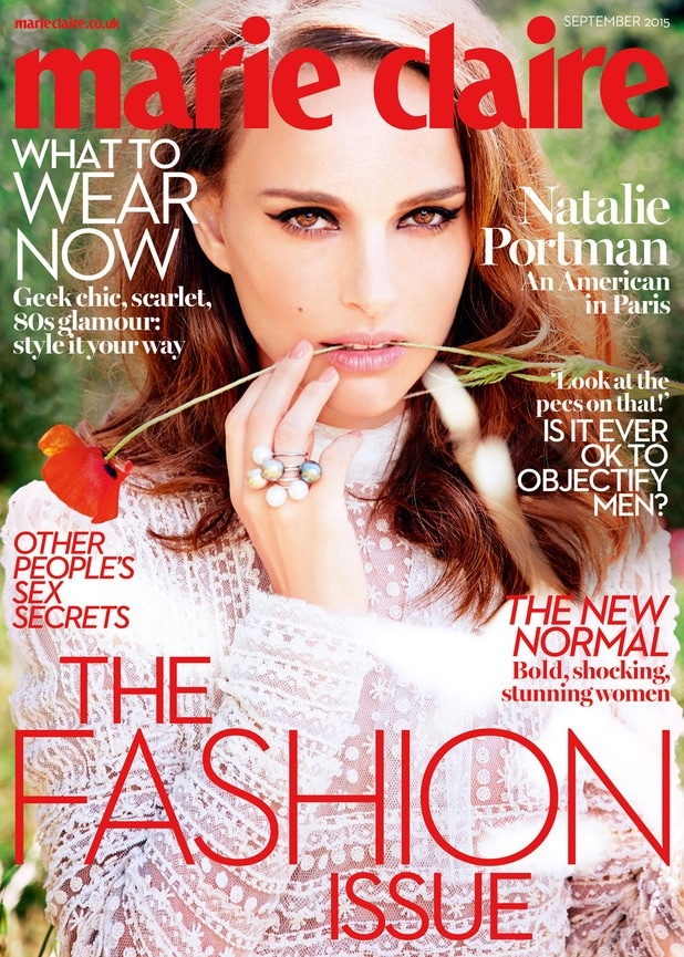 Natalie Portman Stuns in Marie Claire UK's September Issue