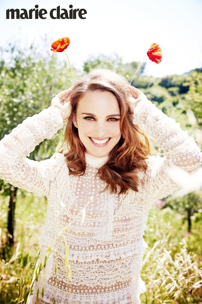 Natalie Portman Stuns In Marie Claire Uk S September Issue