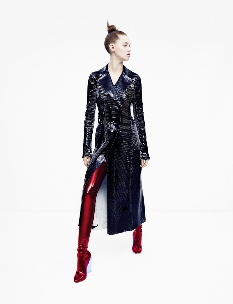 Lindsey Wixson stars in Neiman Marcus 'Art of Fashion' fall 2015 campaign