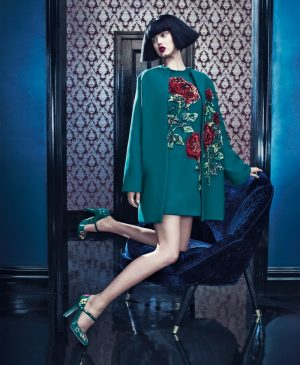 Lindsey Wixson + Binx Walton Front Neiman Marcus' 'The Art of Fashion' Fall 2015 Campaign