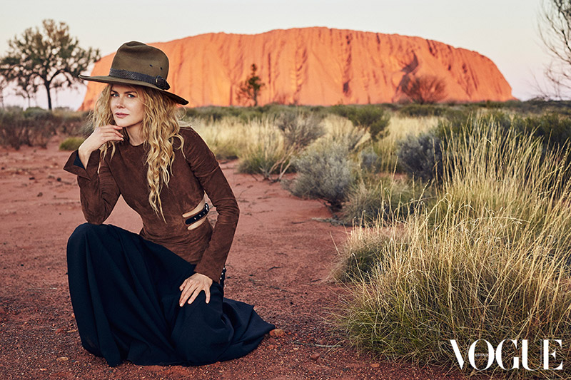 Nicole Kidman for Vogue Australia photographed by Will Davidson