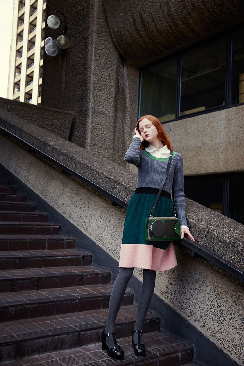 2015 Fall Winter 2016 Fashion Trends For Teens: Orla Kiely Fall / Winter 2015 Ad Campaign