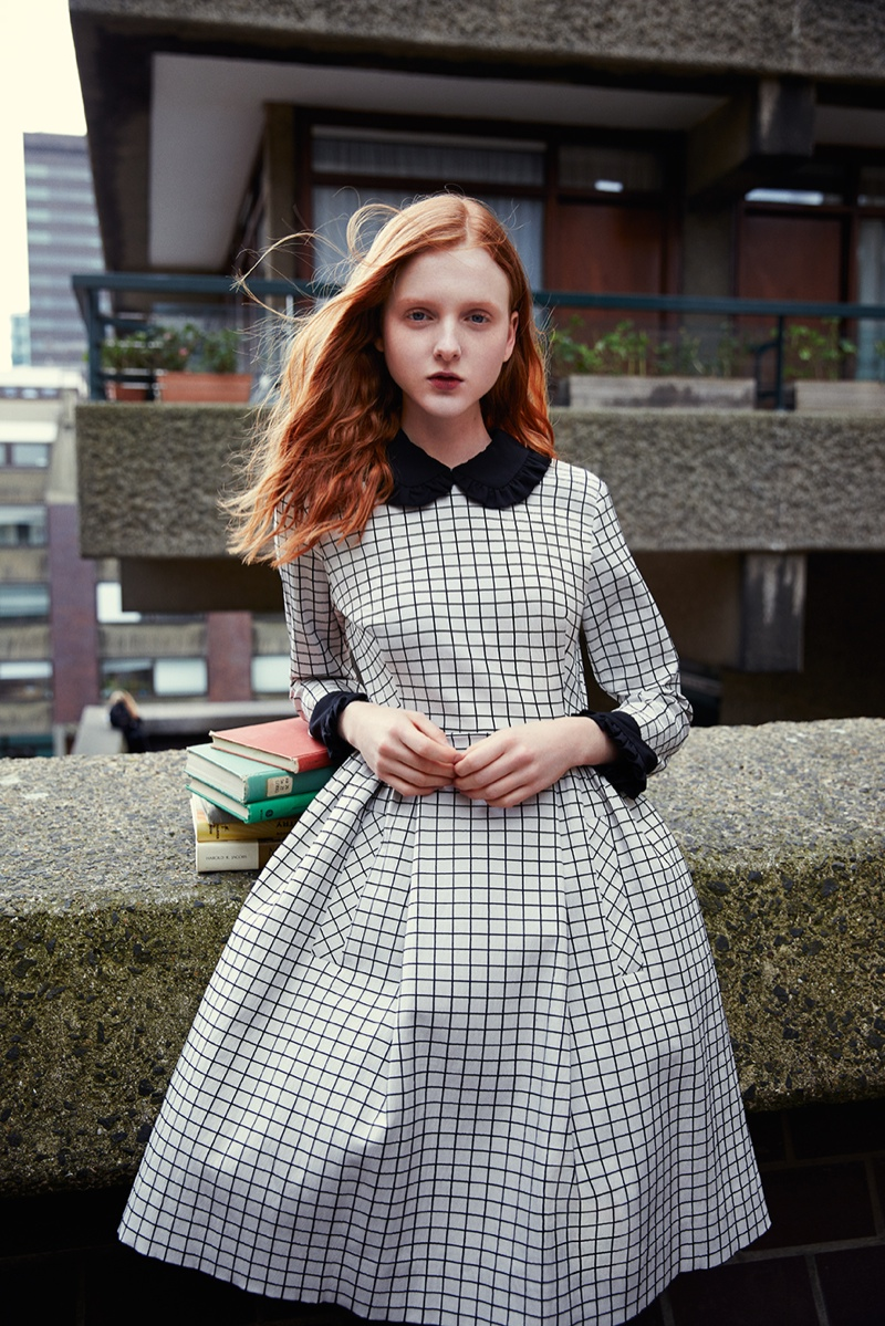 Madison Stubbington Fronts Orla Kiely's Fall 2015 Campaign