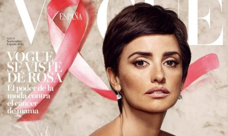 Penelope Cruz on Vogue Spain September 2015 Cover