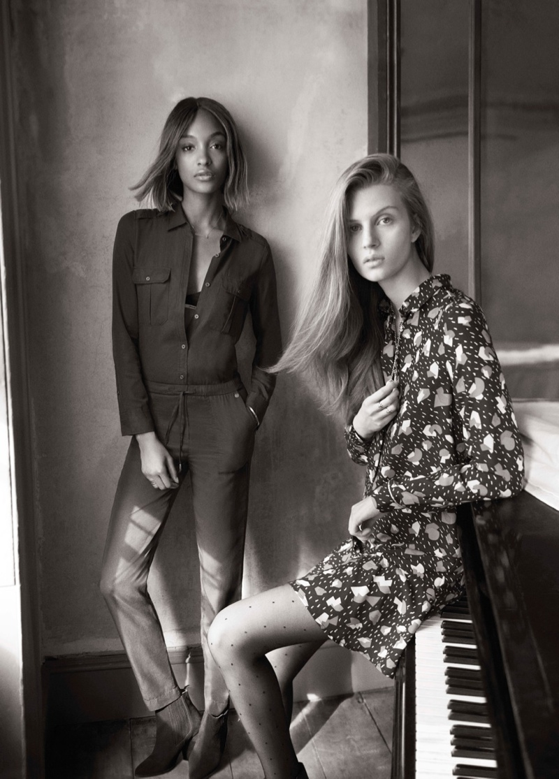 Jourdan Dunn, Sam Rollinson Front Pepe Jeans Fall '15 Campaign
