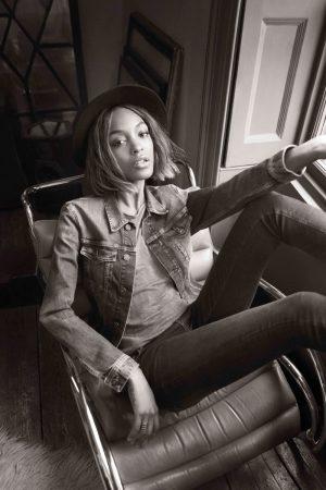 Jourdan Dunn, Sam Rollinson Front Pepe Jeans Fall '15 Campaign