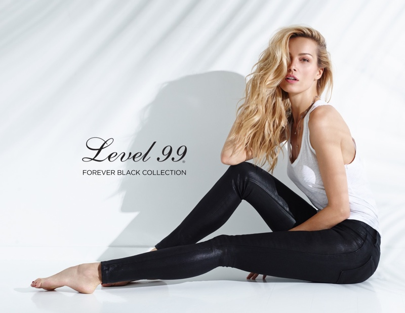 Petra Nemcova Wears Sustainable Denim in Level 99 Forever Campaign