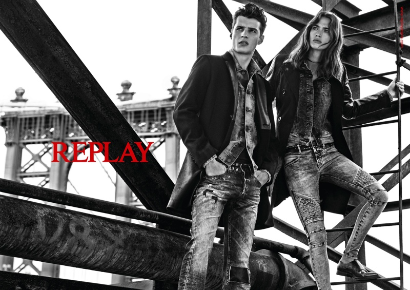 Replay Denim Fall 2015 Ad Campaign01