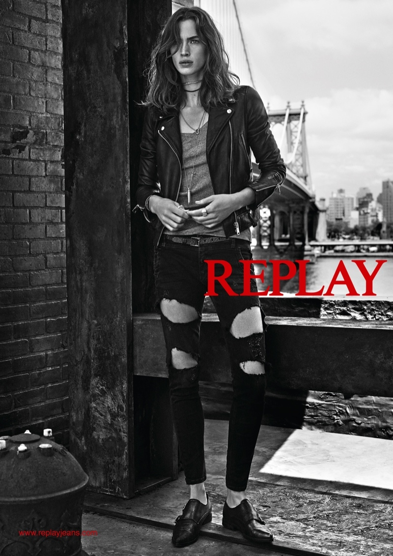 Replay Denim Fall / Winter 2015 Ad Campaign