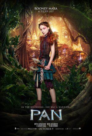 Rooney Mara on 'Pan' Movie Poster