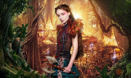 Rooney Mara as Tiger Lily on Pan poster