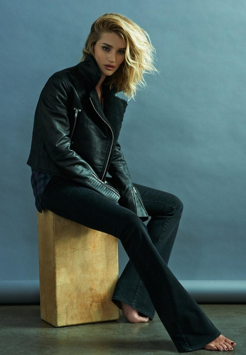 Rosie Huntington Whiteley Wows In Paige Denim S Fall 2015 Ads Fashion Gone Rogue
