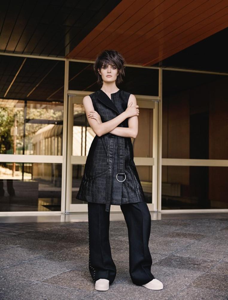 Sam Rollinson Wears Fall Style for Yelena Yemchuk in T Magazine China