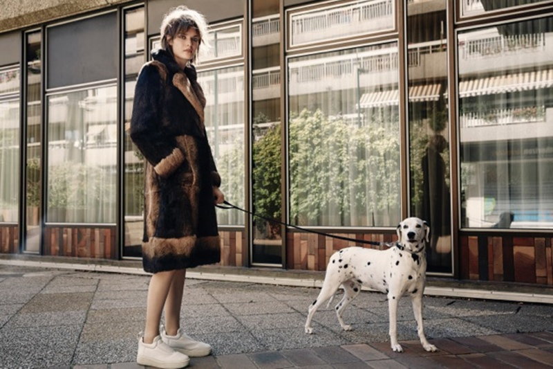 Sam Rollinson Wears Fall Style for Yelena Yemchuk in T Magazine China