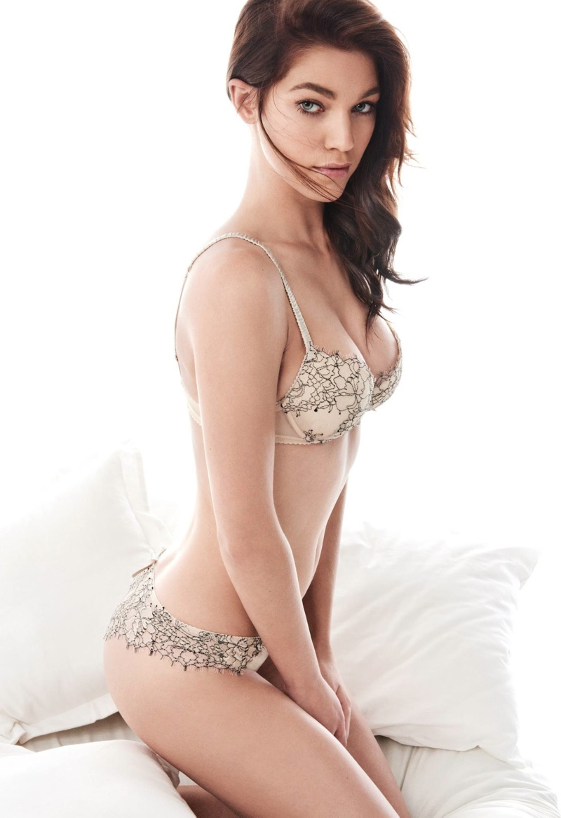 Samantha Gradoville Twin Set Fall 2015 Lingerie Campaign03