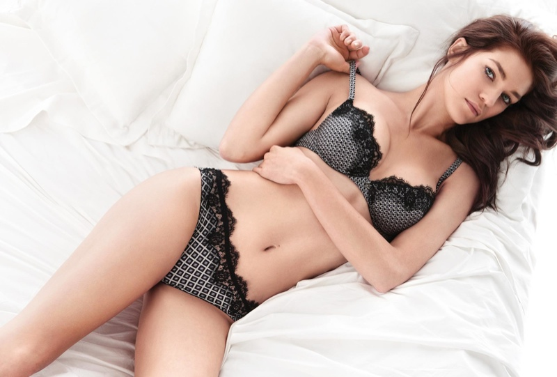 Samantha Gradoville Twin Set Fall 2015 Lingerie Campaign04